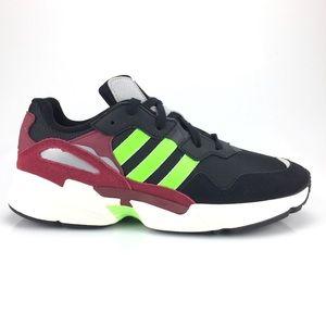 Adidas Mens Yung 96 Black Green Red New